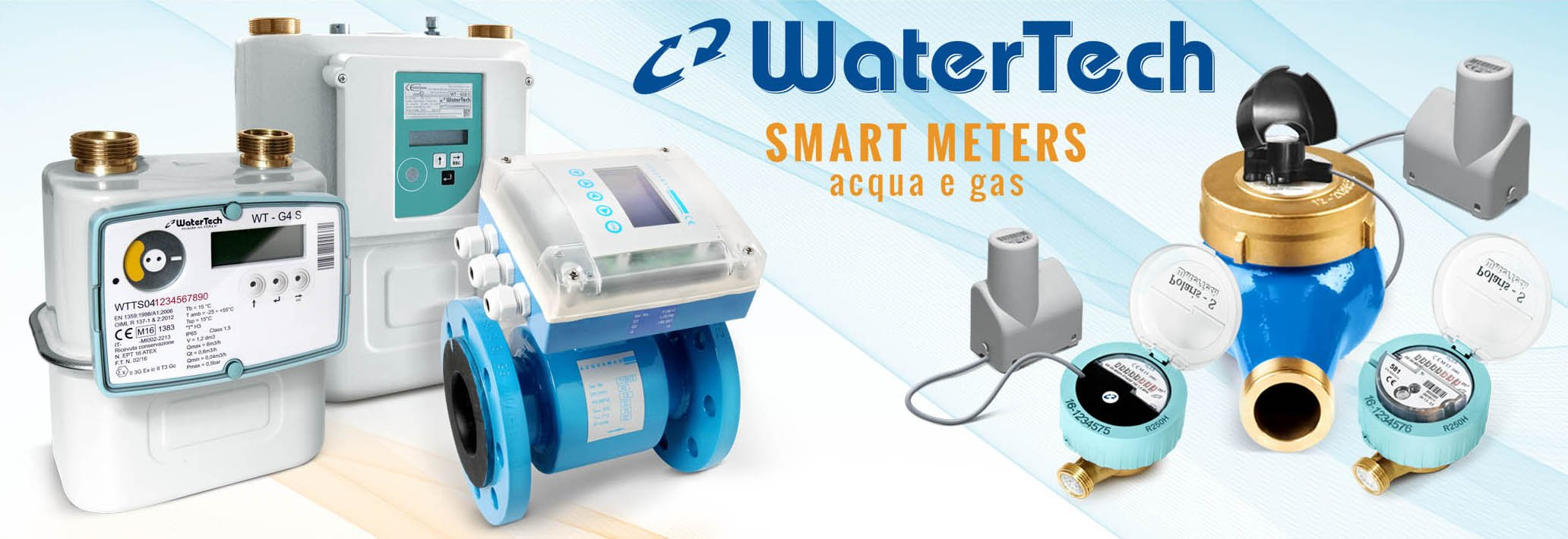 Watertech smart meter acqua e gas