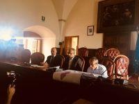 Conferenza stampa Minturno risanamento reti