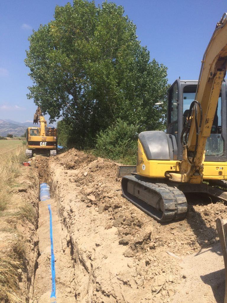 Acqualatina - rete idrica di Minturno - Il cantiere8