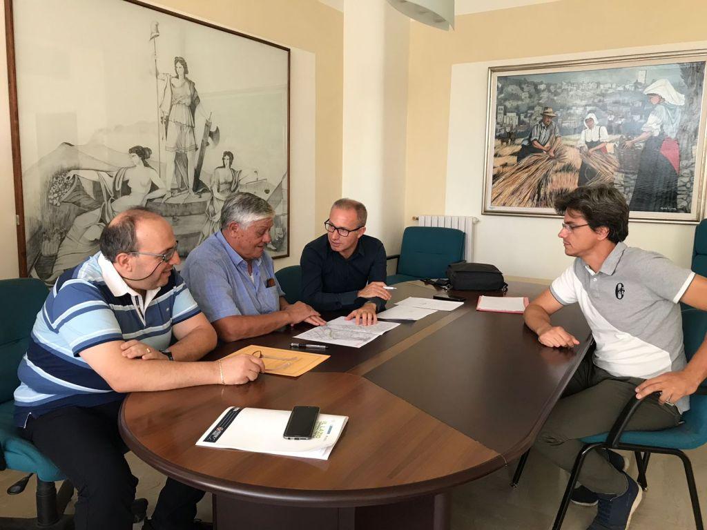 Incontro tecnico - Acqualatina - Santi Cosma e Damiano -recupero perdite di rete