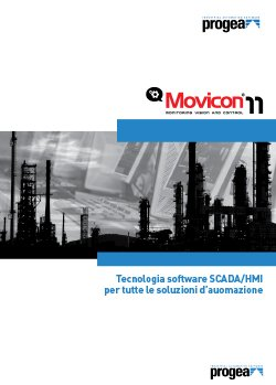 PROGEA - Movicon-11 - brochure