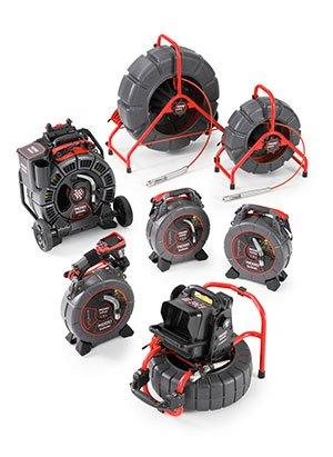 Ridgid - Ruote e videocamere