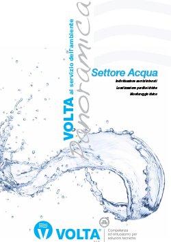 VOLTA - Brochure settore acqua