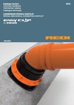 REDI - Brochure EASY-CLIP Connessioni speciali per fognatura