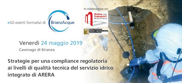 Strategie per una compliance regolatoria ai livelli di qualità tecnica del servizio idrico integrato di ARERA