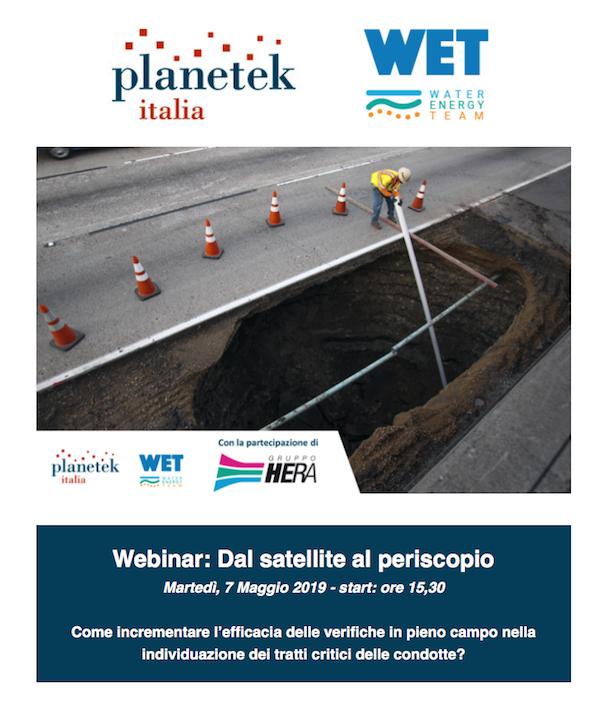 Webinar Dal satellite al periscopio