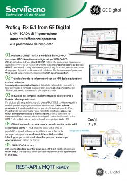 Brochure Proficy iFix 6.1 from GE Digital