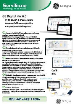 Servitecno - brochure GE Digital iFix - HMI SCADA