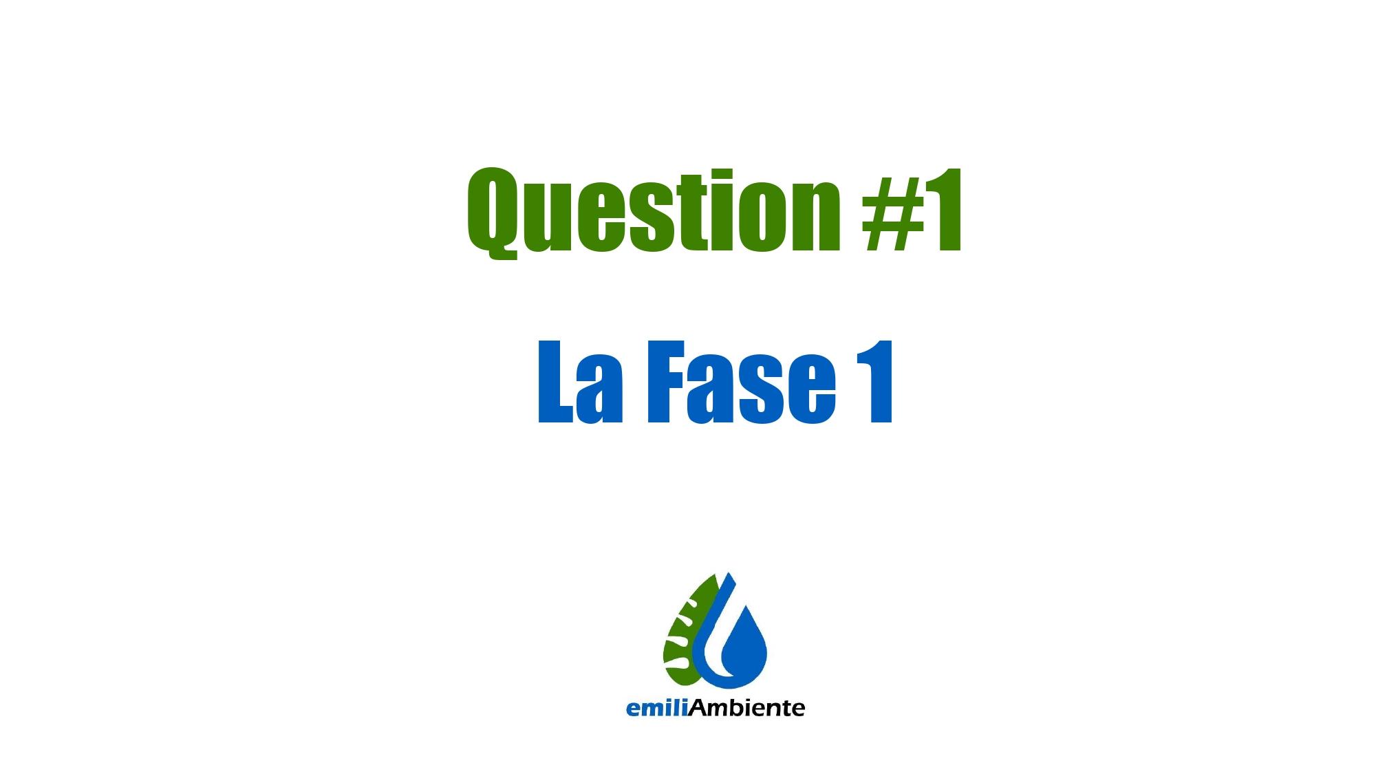 EmiliAmbiente QuestionTime 1