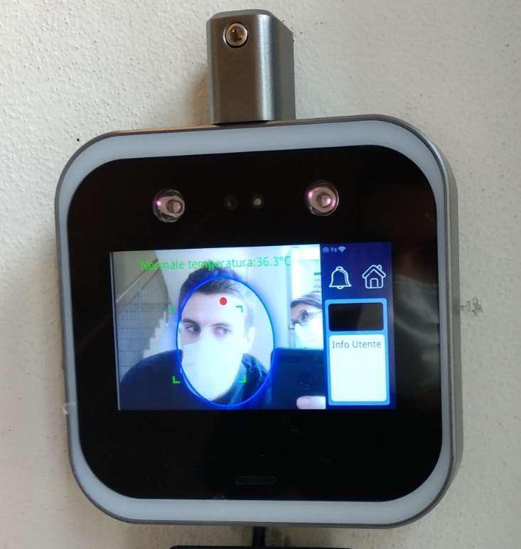 Temperatura e mascherina: attivo lo scan facciale negli uffici EA