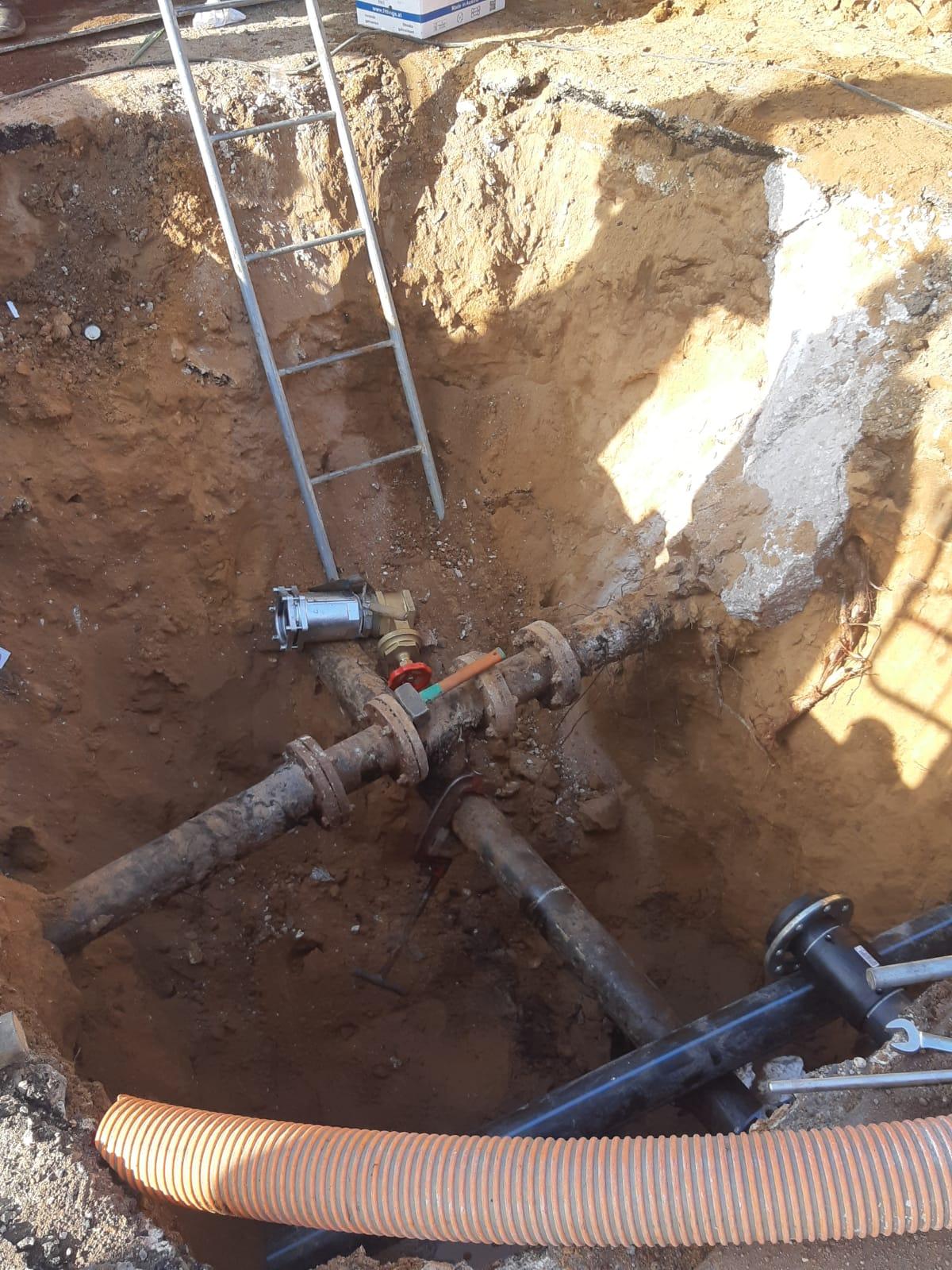Lavori di ammodernamento della rete idrica nel Comune di Nettuno 2