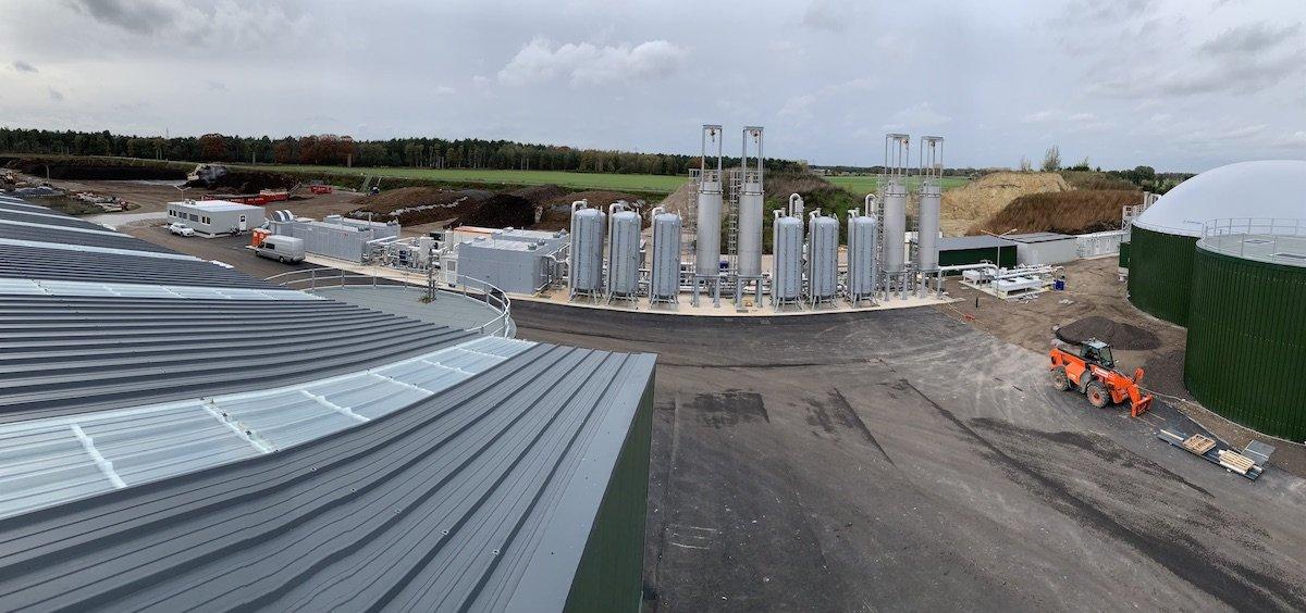 Nuovo impianto per la produzione di Biogas da rifiuti organici in Olanda 2