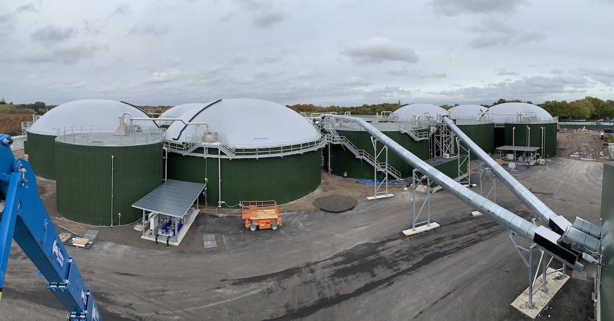 Nuovo impianto per la produzione di Biogas da rifiuti organici in Olanda 4