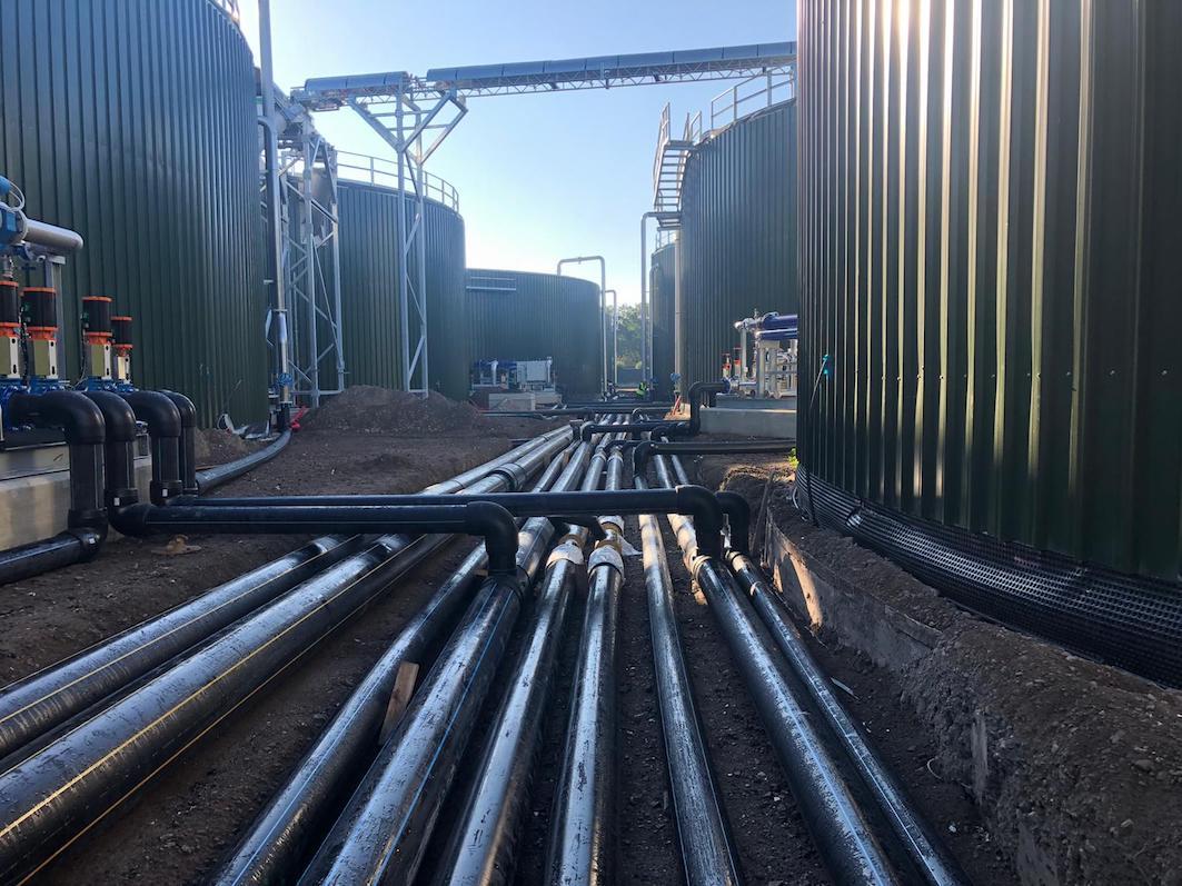 Nuovo impianto per la produzione di Biogas da rifiuti organici in Olanda 5