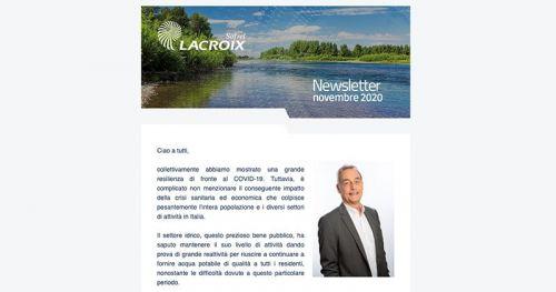 Newsletter LACROIX Sofrel novembre 2020