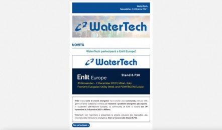 WaterTech Newsletter Ottobre 2021