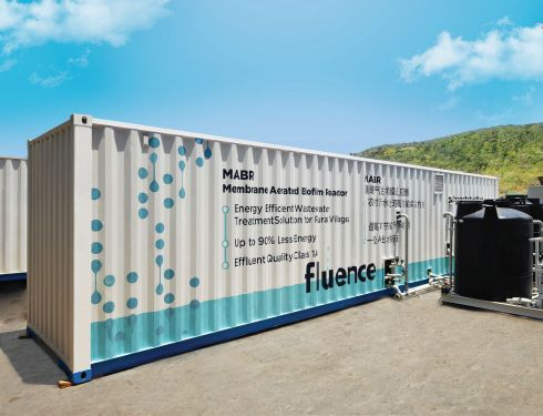 fluence-MABR container-clean-green